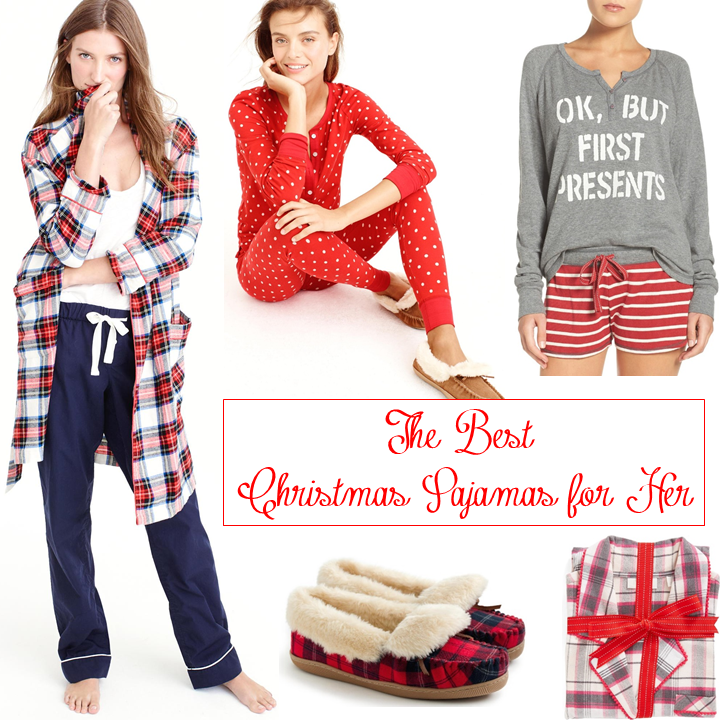 THE BEST CHRISTMAS PAJAMAS FOR HER | Beautifully Seaside