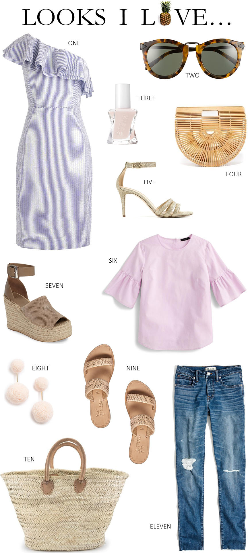 Looks I Love Summer Vacation Outfit Ideas Beautifully