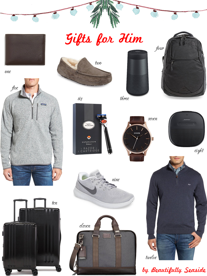 Holiday Gift Guide For Him Beautifully Seaside