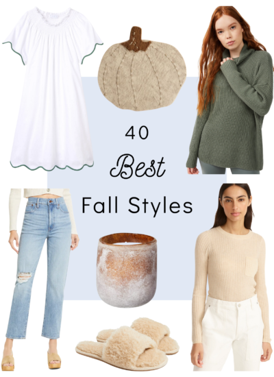 40 BEST STYLES FOR FALL