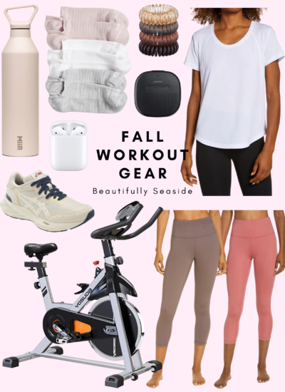 FALL WORKOUT GEAR FOR STATIONARY BIKES